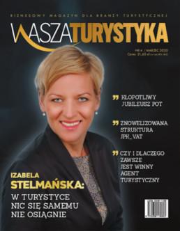 Magazyn Wasza Turystyka okładka Izabela Stelmańska